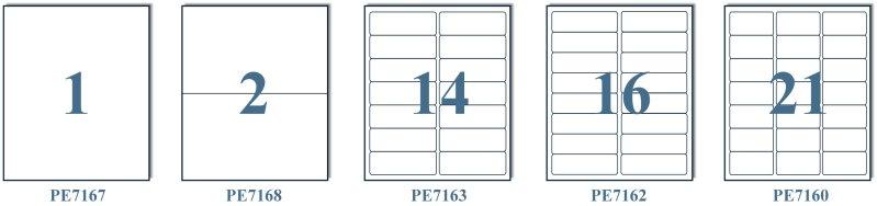 POLYCO貼紙格式